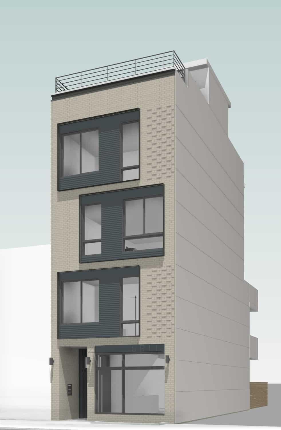Front Elevation Balcony Designs: AMBER ST (FISHTOWN)